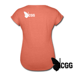 ONE in the CHAMBER Women's Tee - heather bronze