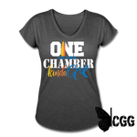 ONE in the CHAMBER Women's Tee - deep heather