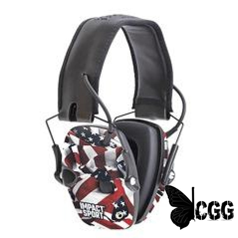 One Nation Flag Sport Electronic Earmuff