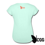PEW PEW Women's Tee - mint
