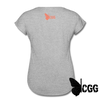 PEW PEW Women's Tee - heather gray