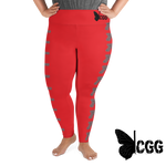 Pistol Curvy Leggings 2Xl