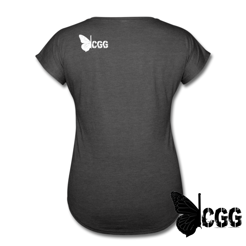 PISTOLS. JESUS. TACOS. Women's Tee - deep heather