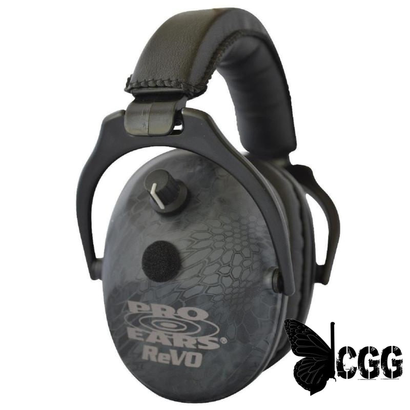 Pro Ears Revo Electronic Ear Muffs Typhon
