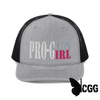 Pro-Gun Pro Girl Trucker Hat Heather Grey / Black