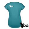 PROTECTED Women's Tee - heather turquoise