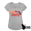 SUP SHORTY - heather gray