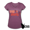 SUP SHORTY - heather plum