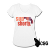 SUP SHORTY - white