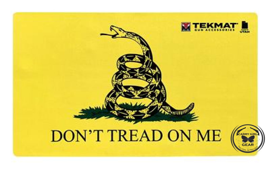 Tekmat Door Mat 2A Dont Tread On Me Yellow 25X42