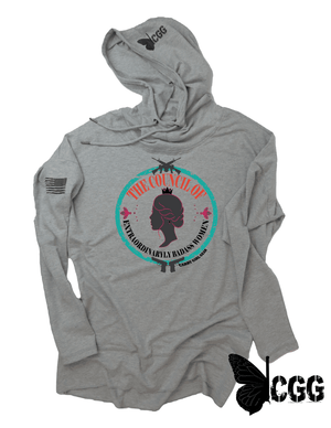 The Council Hoodie Xs / Heather Grey Lightweight