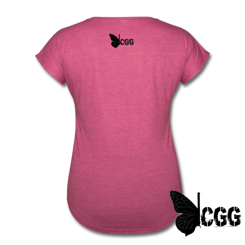 TRY ME Women's Tee - heather raspberry
