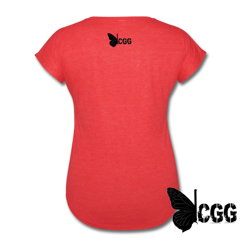 TRY ME Women's Tee - heather red