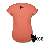 TRY ME Women's Tee - heather bronze