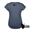 TRY ME Women's Tee - navy heather