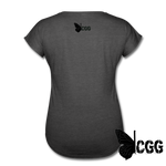 TRY ME Women's Tee - deep heather