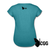 TRY ME Women's Tee - heather turquoise