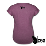TRY ME Women's Tee - heather plum