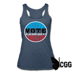 VOTE 2020 Tank - heather navy