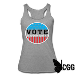 VOTE 2020 Tank - heather gray