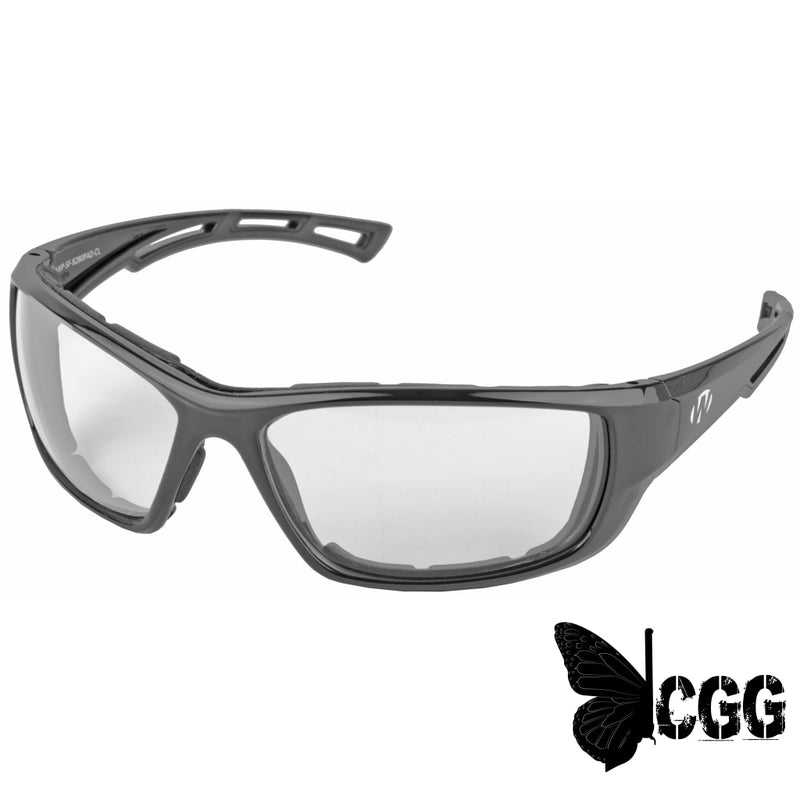 Walkers 8280 Glasses Black Frame W/ Padding Clear Lens