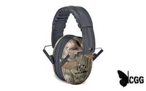Walkers Passive Youth Ear Muffs Camo