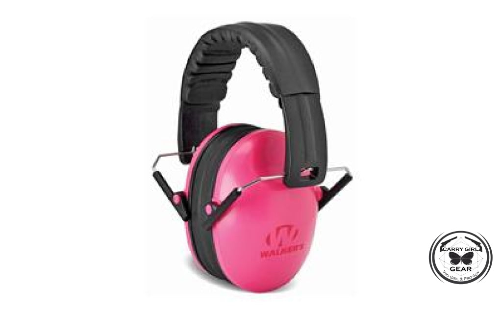 Walkers Passive Youth Ear Muffs Pink