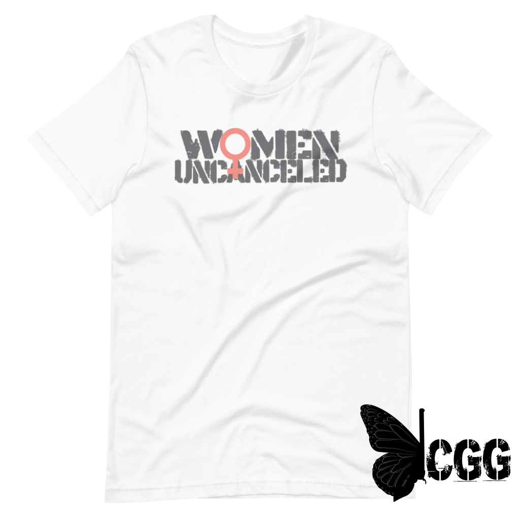 Women Uncanceled White / Xs