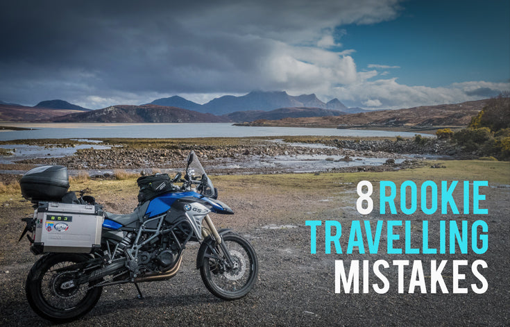 Long distance motorcycle trip mistakes