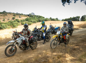 Learn with motorcycle groups