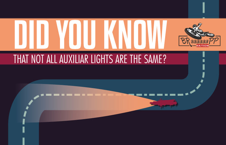 Motorcycle auxiliar LIGHTS - 3 TOP Tips
