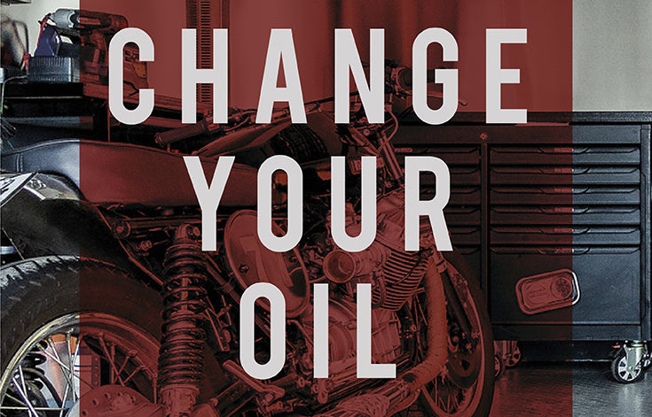 How to change your motorcycle oil in easy steps!
