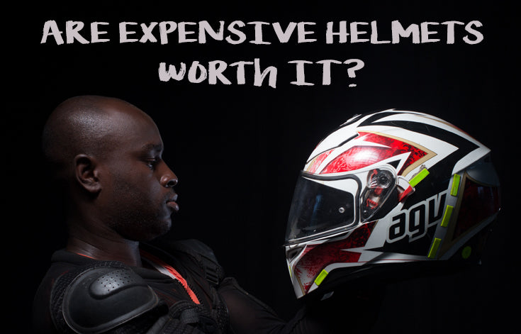 Are expensive motorcycle helmets worth it?