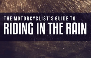 Motorcycle riding in the rain | How to safely ride in the rain | Riding motorcycle in rain | Motorcycles and rain how to be safe