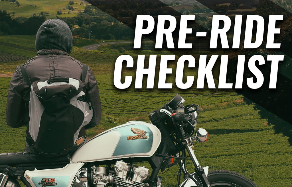 Motorcycle maintenance checklist | Pre ride bike check