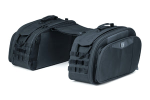 Kuryakyn 5209 Momentum Outrider Throw-over Saddlebags