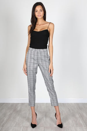 Ima Grown Woman Plaid Trouser