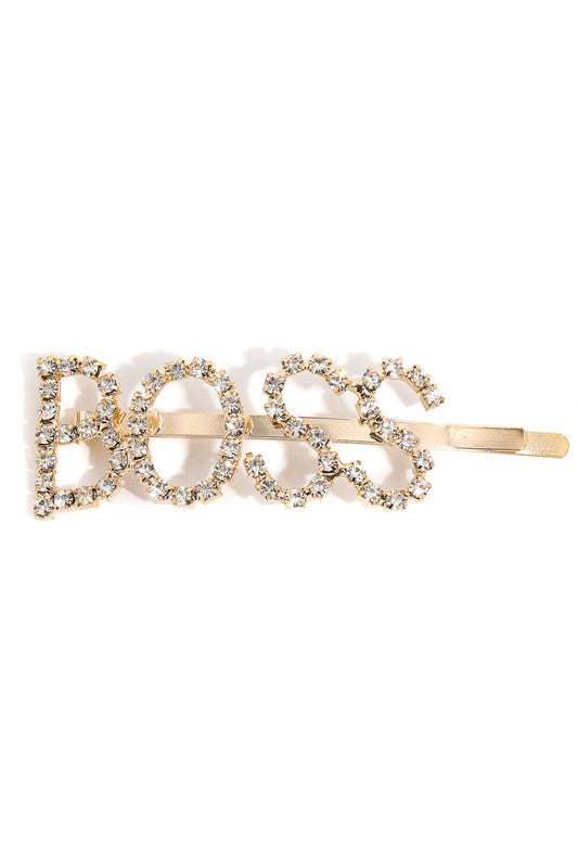Boss Studded Hair Clip