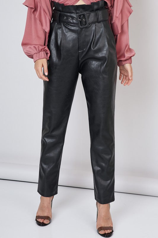 Do + Be Leather Trousers