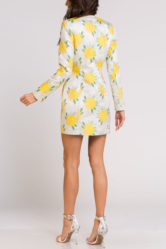 Lemonade Blazer Dress