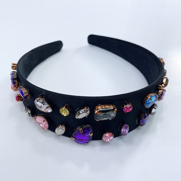Multi Jeweled Headband