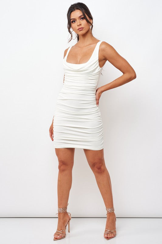 Nikita Ruched Bodycon Dress
