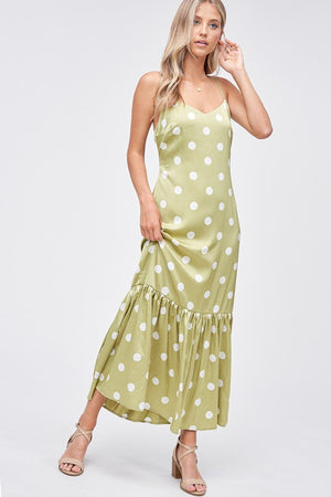 Emory Park Polka Dot Maxi Dress