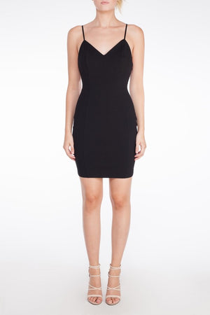 LBD Ring Detail Mini Bodycon Dress