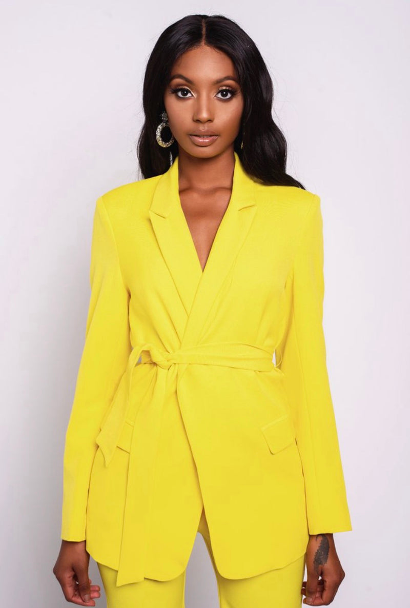 Lemon Drop Blazer