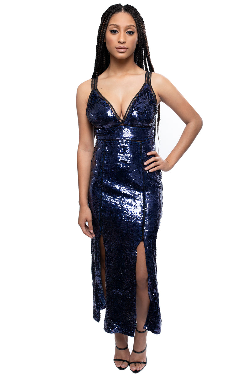 Midi Sequin Dress