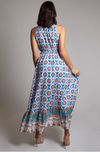 Bohemian High-Low Maxi Dress