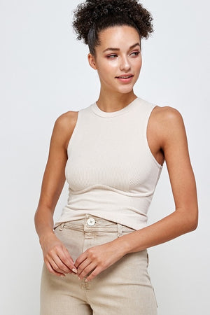 Suzanne Knitted Sleeveless Top