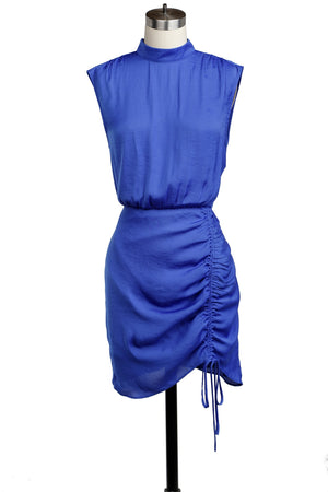 Naked Zebra Dress- Royal Blue