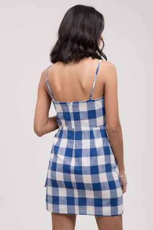 Roxanne Checkered Mini